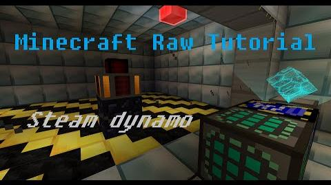 Minecraft Raw Tutorial - Steam Dynamo