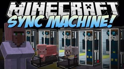 Minecraft SYNC MACHINE! (Piggy Treadmills & Clones!) Mod Showcase