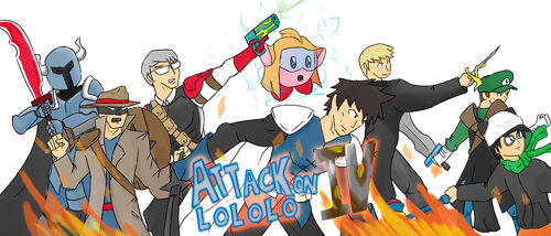 Attack on Lololo 4 Wallpaper