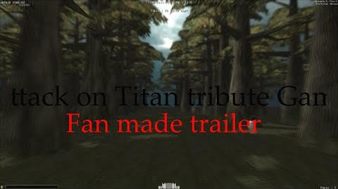 Attack on Titan Tribute Game Trailer