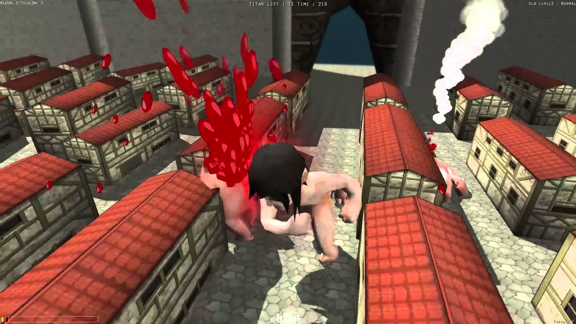 نتیجه تصویری برای Attack On Titans-The Tribute Game
