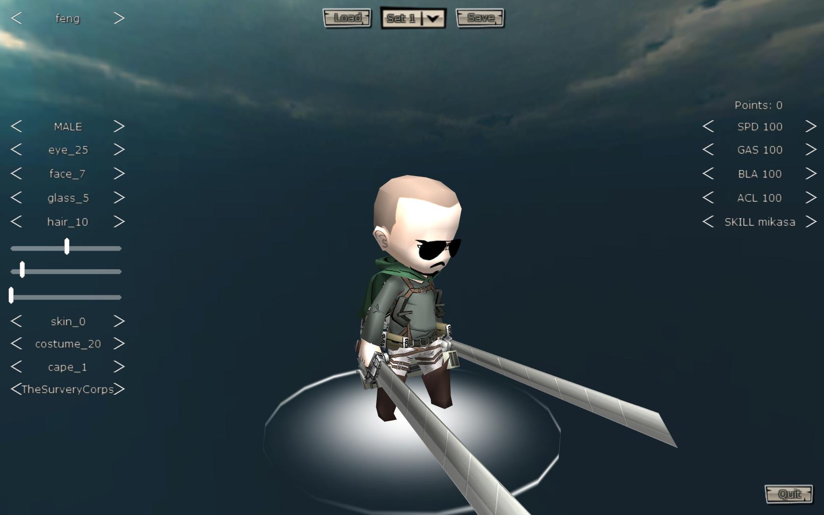 KILLING TITANS LIKE A PRO   Attack On Titan Tribute Game ...