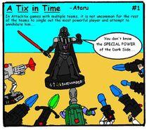A tix in time comic 001
