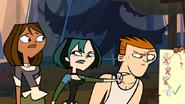 Gwen arrabbiata con Courtney