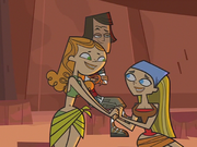 Izzy e Lindsay