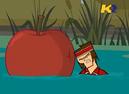 Tyler prende mela a testate