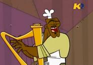 TDI Chef suona arpa