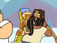 Leshawna abbraccia Ale