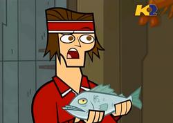 TDWT Tyler commento bacio pesce