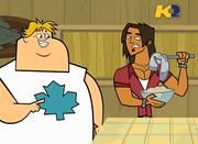 TDWT Alejandro trova calzino di Owen nella zuppa