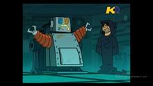 Alejandro viene rinchiuso nel robot