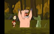 Zoey,alligatore e orso arrabbiato