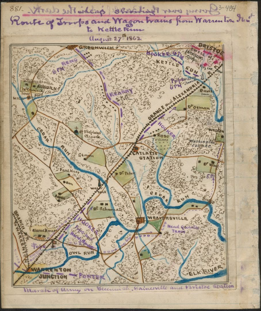 Battle Of The Kettles: 1862RouteOfTroopsWarrentonJnctToKettleRun.jpg
