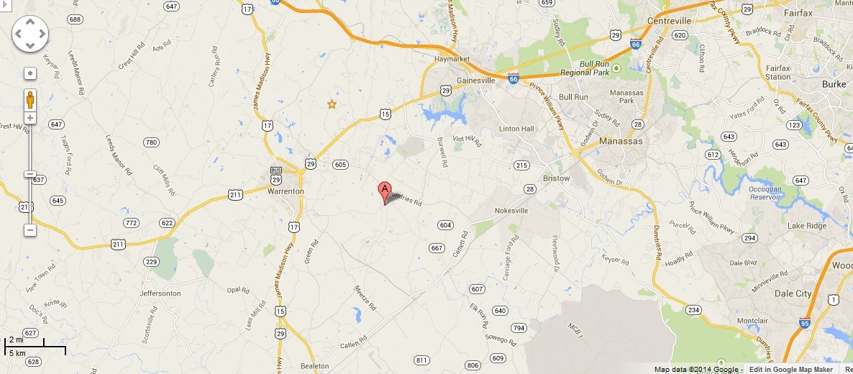 2014 Auburn Vicinity Google Map Auburn Virginia Wiki Fandom