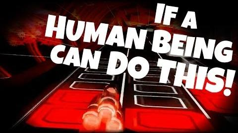 "Audiosurf - If a Human Being can do this! ""Gameplay Hardest Song Ever"""