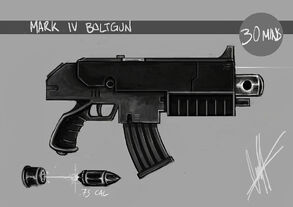 Mark iv boltgun by rumbles-d4sylny