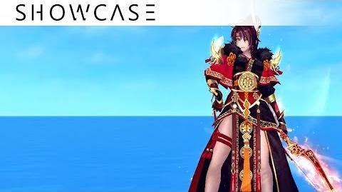 Showcase Aura Kingdom Eidolons - Yumikaze's Combo Skill