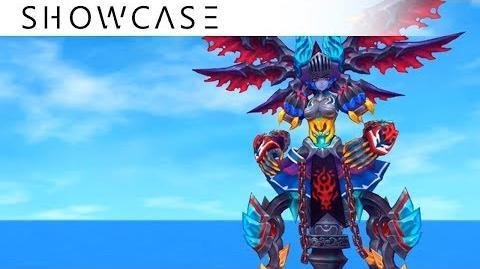 Showcase Aura Kingdom Eidolons - Maja's Combo Skill
