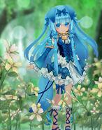 Fenrir flowers pose