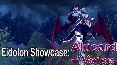 Eidolon Showcase Alucard Japanese voice Aura Kingdom