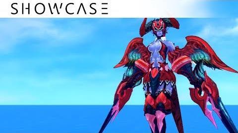 Showcase Aura Kingdom Eidolons - Tanith's Combo Skill