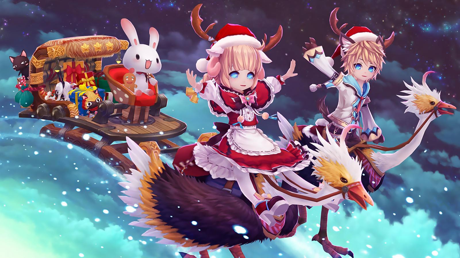 Hansel Gretel Christmas Wallpaper Png