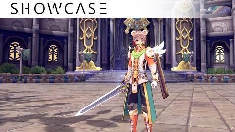 Showcase Aura Kingdom Guardian Ranger (Sword and Shield War Bow) - Skills & Combo Gameplay