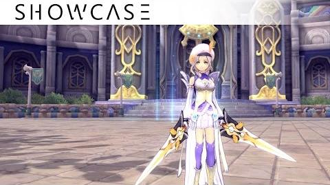 Showcase Aura Kingdom Duelist Ravager (Dual Blades Great Axe) - Skills & Combo Gameplay