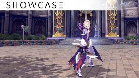 Showcase Aura Kingdom Shinobi Reaper (Shuriken Scythe) - Skills & Combo Gameplay
