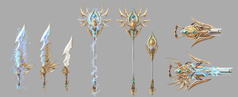 Supercharged Blades of Thunder   Aura Kingdom Wiki   FANDOM powered by Wikia