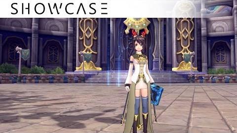 Showcase Aura Kingdom Sorcerer Reaper(Grimoire Scythe) - Skills & Combo Gameplay