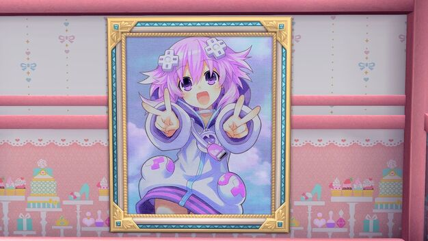Neptunia Portrait