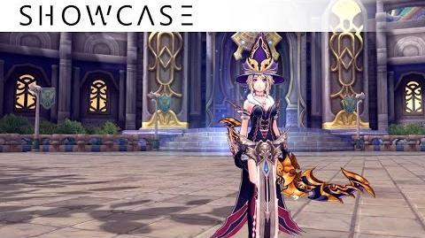Showcase Aura Kingdom Ranger Bard (War Bow Harp) - Skills & Combo Gameplay