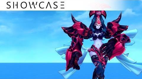 Showcase Aura Kingdom Eidolons - Bel-Chandra's Combo Skill
