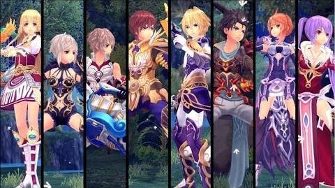 Aura Kingdom Character Trailer