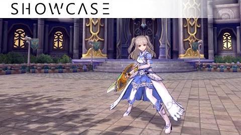 Showcase Aura Kingdom Crusader Brawler (Great Sword Katars) - Skills & Combo Gameplay