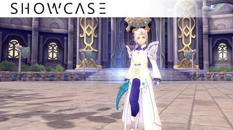 Showcase Aura Kingdom Bard Sorcerer (Harp Grimoire) - Skills & Combo Gameplay