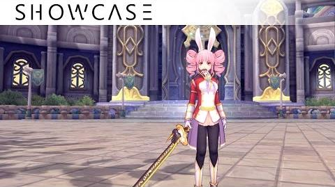 Showcase Aura Kingdom Ronin Brawler (Tachi Katars) - Skills & Combo Gameplay