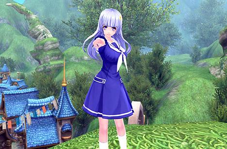 Miku Izayoi Uniform ver. Costume