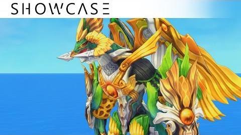 Showcase Aura Kingdom Eidolons - Yarnaros' Combo Skill
