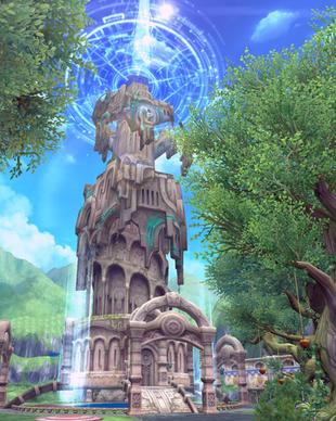 Sky Tower Aura Kingdom Wiki Fandom Powered By Wikia