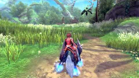 Aura Kingdom Ethereal Wolf Mount - Founder's Pack