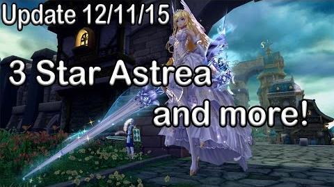 3 Star Astrea, Kusanagi's Wings costumes and more! Aura Kingdom Update 12 11 15