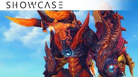 Showcase Aura Kingdom Eidolons - Zaahir's Combo Skill