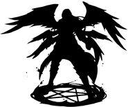 Lucifer-silhouette