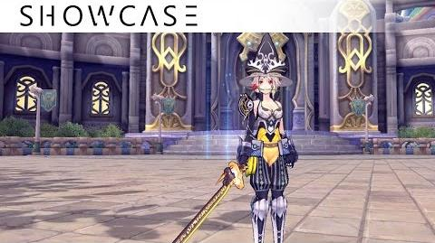 Showcase Aura Kingdom Ronin Wizard (Tachi Staff) - Skills & Combo Gameplay