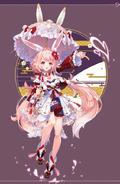 Inaba White Hare artwork