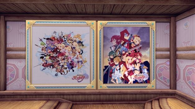 Disgaea paintings