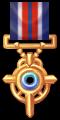 Gold Vortex Medal