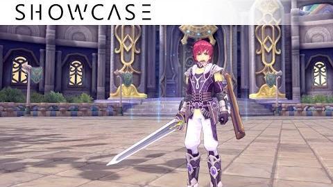 Showcase Aura Kingdom Guardian Duelist (Sword and Shield Dual Blades) - Skills & Combo Gameplay